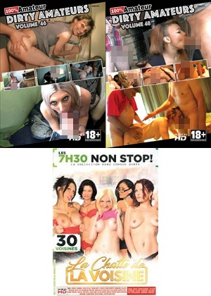 dvd Pack 3 dvd Amateur n°11